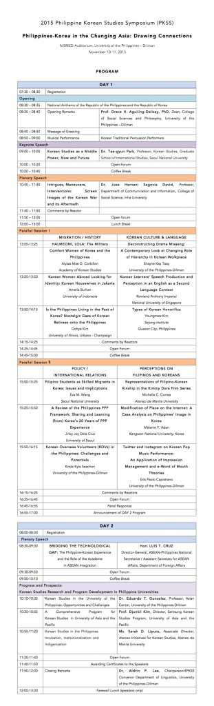 4PKSS Program (1 Panel)